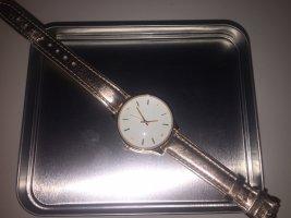 Uhr mit goldarmband