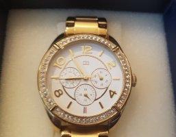 Tommy Hilfiger Reloj analógico blanco-color oro