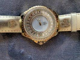 Pompöös by Harald Glöckler Montre avec bracelet en cuir doré