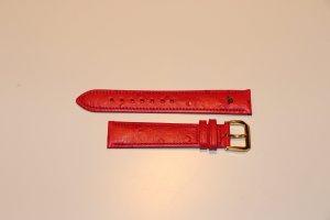 Maurice Lacroix Zegarek ze skórzanym paskiem głęboka czerwień-ciemnoczerwony