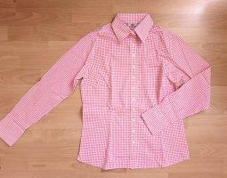 Umani Camicia blusa bianco-rosa