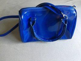 Umhängetasche Blau-Glanz