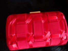 Paule ka Crossbody bag red-gold-colored acetate