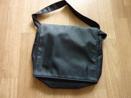 Umhängetasche Shopping einfache Tasche schwarz waschbar