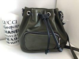 Umhängetasche Tasche Khaki Grün Sack