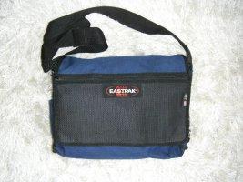 Umhängetasche, Tasche, Schultasche, blau, schwarz, Eastpak