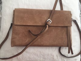 5th Avenue Crossbody bag light brown-brown leather