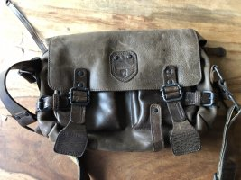 aunts & uncles Crossbody bag bronze-colored leather