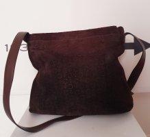 Celine Sac bandoulière brun foncé cuir