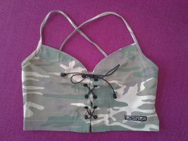Uncle Sam Camouflage Top Gr. S