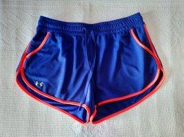 Under armour Shorts arancio neon-blu