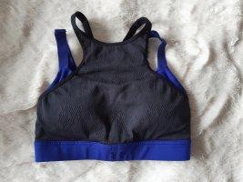 Under armour Sporttop zwart-blauw