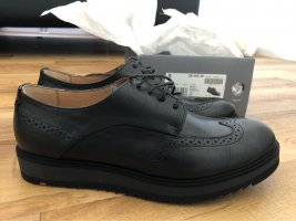 Lloyd Wingtip Shoes black leather