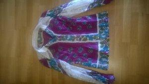Colletto camicia viola-bianco