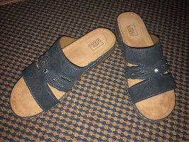 Street Comfortabele sandalen leigrijs