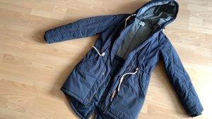 desires Cappotto con cappuccio blu scuro