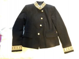 Zara Basic Naval Jacket black-gold-colored