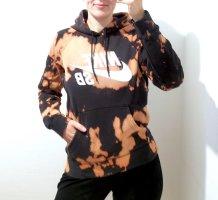 UNIKAT Batik Nike Hoodie Tie Dye Gr. XS Schwarz Nude