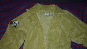 Oversized jas limoen geel