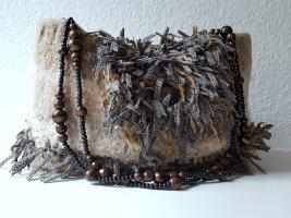 Sac à franges multicolore laine