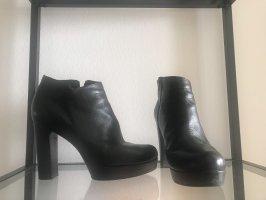 Unisa Bottines à plateforme noir cuir