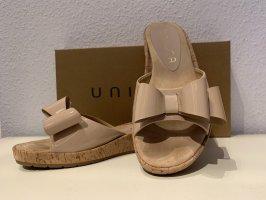 Unisa Pantolette mit Schleife Gr. 39