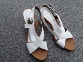Unisa Riemchenpumps Sandale Größe 41 Weiß Neu