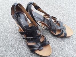 Unisa Sandale Größe 41 Schwarz