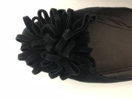 unnützer Mary Jane ballerina's zwart