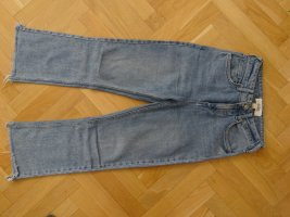 Urban Outfitters Hoge taille jeans blauw Textielvezel