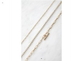 Urban Outfitters Necklace gold-colored