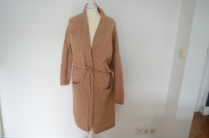 Humanoid Knitted Coat apricot mohair