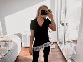 V-Ausschnitt Zara Shirt