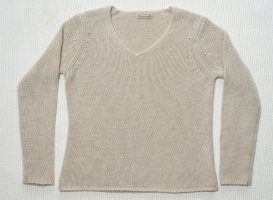 Hemisphere Pullover in cashmere bianco sporco Cachemire