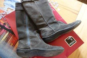 Jackboots grey leather