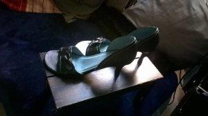 VAGABOND Leder Sandalen, Schuhe, Gr. 39