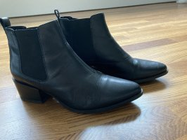 Vagabond Bottines à enfiler noir cuir