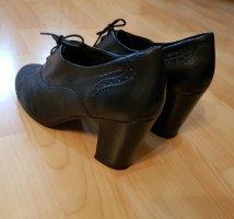 Vagabond schwarzblaue Schuhe im Vintage - Stil Größe 38