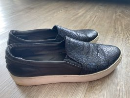 Vagabond Sneaker Slipper Gr.40 dunkelblau schwarz Schlangenmuster