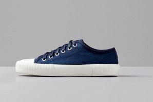 Vagabond Lace-Up Sneaker dark blue-blue