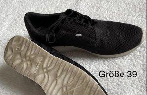 Vagabond Lace-Up Sneaker black