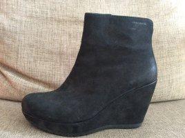 Vagabond  Suede Stiefel in schwarz