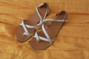 Vagabond Strapped Sandals white leather