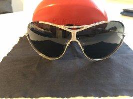 Valentino Aviator Glasses silver-colored-black
