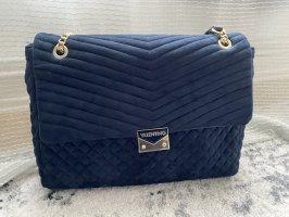 *Valentino* blaue Tasche aus Samt