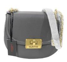Valentino by Mario Valentino Schultertasche in Grau aus Leder