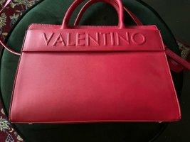 Valentino Mario Valentino Business Shopper Satchel Bag Handtasche Tasche Henkeltasche Umhängetasche Crossbody rot