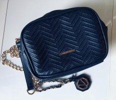 Valentino Crossbody bag gold-colored-dark blue