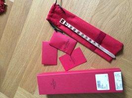 C. Valentino Lederen armband roségoud-goud Leer
