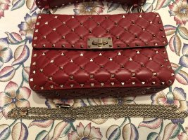Valentino Rock stud Bag In perfect Red